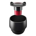 La taza térmica emsa travel mug posee una tapa desmontable que facilita su limpieza en el lavavajillas
