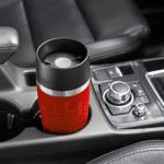 La Taza Termo de emsa es óptima para llevar en el soporte de cualquier coche
